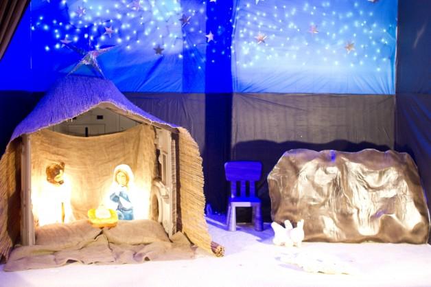 Christmas Presentation Stage